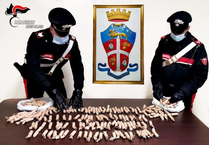 Botti: avevano 3,6 chili di candelotti pirotecnici, denunciati