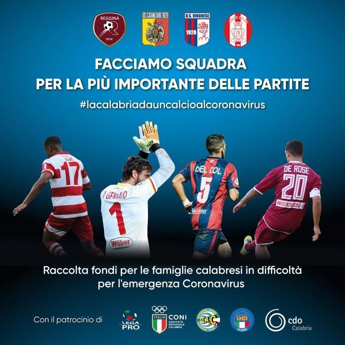 Covid: Serie C; 20 calciatori positivi nella Vibonese