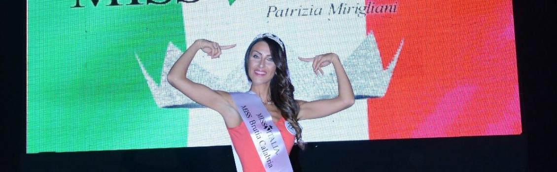"""Erica Avignone è """"Miss Brutia Calabria"""""""